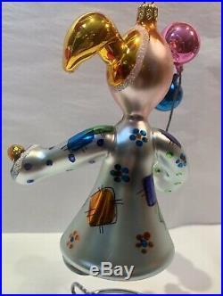 Christopher Radko christmas ornament Italian Bubbles