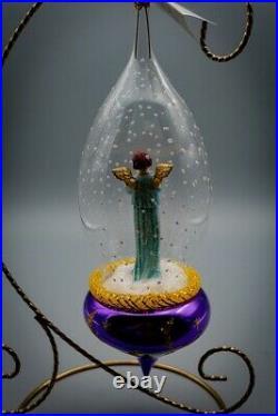 Christopher Radko ornament Gabriels Horn 96-090-0 Mint Rare & Flawless Italian