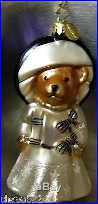 Christopher Radko t MUFFY MY FAIR LADY Ornament #1015677 New in Box 2010