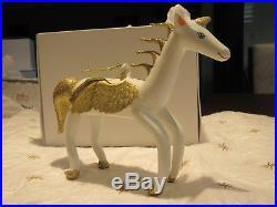 Christopher Radko vintage ornament. Sky Prancer (Pegasus)