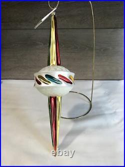 Christopher radko 1993 Thunderbolt Made in Germany Ornament Very Rare