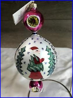 Christopher radko 2000 15 Anniversary forever Lucy ornament