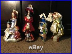 Christopher radko Peter Pan ornament set