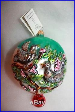 Christopher radko ornaments 12 days of christmas full set