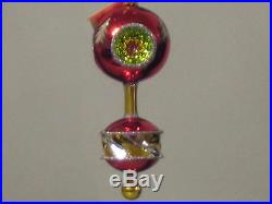 Cristopher Radko Royal Diadem Triple Reflector Drop Christmas Ornament