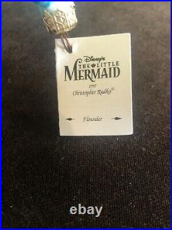 Disney Little Mermaid Flounder Christopher Radko Christmas Ornament