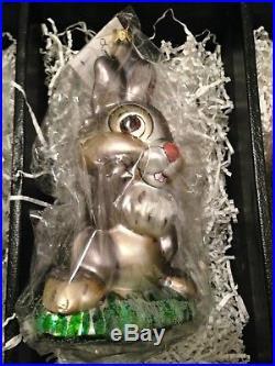 Disney's Bambi, 55th Anniversary Ornaments, 4- Piece set by Christopher Radko