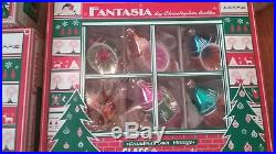 Fantasia By Christopher Radko Ornaments Lot Of 13 Boxed Sets