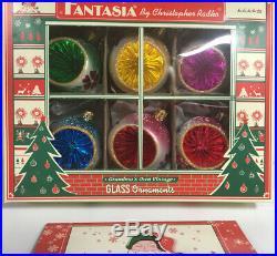Fantasia By Christopher Radko Vtg Christmas Ornaments