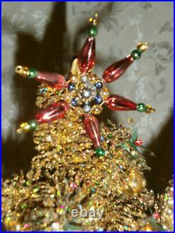 Ino Schaller Christopher Radko 16 Santa Winter Warm #201313 42 of 600 Red Gold