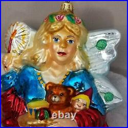 LE #5 Angel of Mercy CHRISTOPHER RADKO Marshall Fields Walnut Room XMAS ORNAMENT