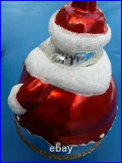 Limited Edition Christopher Radko Master Craftsman Collection Bell Ornaments