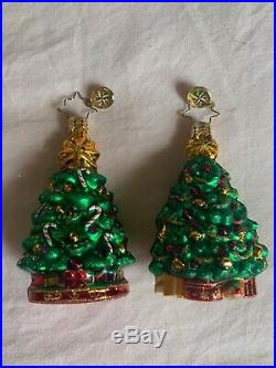 Lot of 20 Christopher Radko Mini Christmas Ornaments