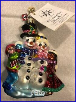 NEW 2002 Radko Celebrate Adoption Christmas Ornament Dave Thomas Foundation NWT