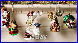 NEW Christopher Radko Disney SNOW WHITE Big Gold Xmas Handcrafted Glass Ornament