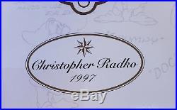 NEW Christopher Radko Snow White Seven Dwarfs Disney 60th Anniversary Ornament 7