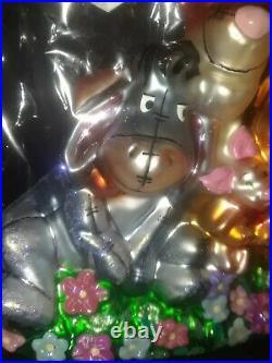 NEW SEALED Christopher Radko Winnie The Pooh & Friends Glass Ornament Christmas