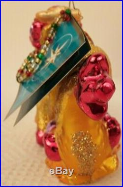NIB Christopher Radko YEAR OF DRAGON Glass Christmas Ornament 2006 Tag Poland