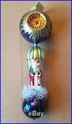 NWT RARE Christopher Radko 1994 Starbuck Santa Pristine Condition 94-SP-3