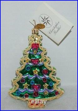 RADKO SWEET TREE COOKIE Christmas Ornament 02-05550 Christmas Tree