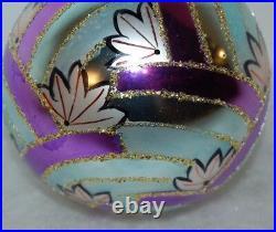 RADKO WATER LILLIES Ball Christmas Ornament 88-063-0