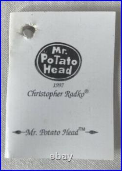 RARE Christopher Radko DISNEY PIXAR Toy Story Ornament MR POTATO HEAD In Box