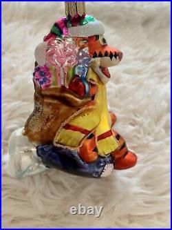 RARE Christopher Radko Tigger Downhill Thrill OrnamentDisney Winnie The Pooh