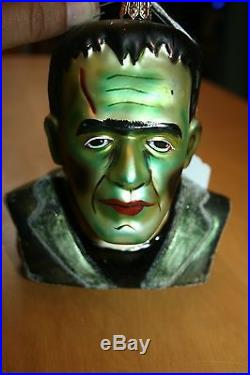 RARE Vintage Christopher Radko Frankenstein Halloween Ornament 5