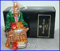 RET Radko SCROOGE Christmas Ornament A Christmas Carol Ltd Ed 15/10000 98-ACC-1