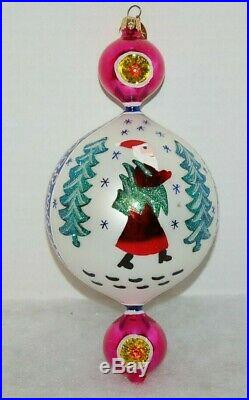 Radko 15TH ANNIVERSARY BLUE LUCY Christmas Ornament 00-1409-0 RARE, BEAUTIFUL
