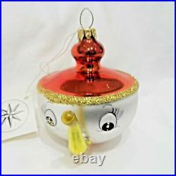 Radko 1993 TEA & SYMPATHY Vintage RARE Ialian TEA CUP Ornament New withTag