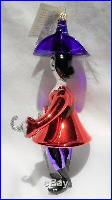 Radko 1995 CAPTAIN Vintage RARE Captain Hook Italian Glass Ornament NEW withTag