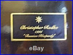 Radko 1996 Russian Rhapsody Ornament Set BRAND NEW 96 RETIRED RARE 96 6 BGO
