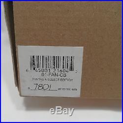 Radko 2001 FANTASIA SELECT EDITION Ltd. Ed. 3-Piece Ornament Set NEW in BOX