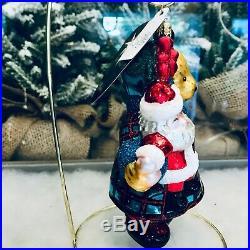 Radko 2008 MUFFY MIRACLE ON 34TH STREET Glass Christmas Ornament 1014400