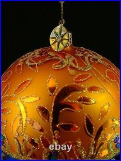 Radko BEST EVER & A PRIZE TO OWN RADKO Polish Glass Ornament SPECIAL COLL