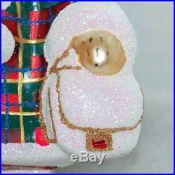 Radko BLOOMINGDALE'S CHRISTMAS SHOPPER MUFFY 2018 Ornament 3013411