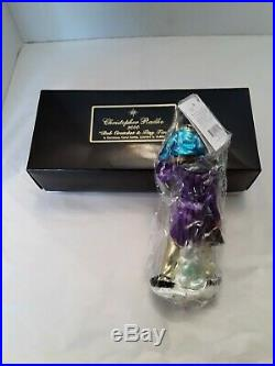 Radko BOB CRATCHET & TINY TIM 8 LE Christmas Carol glass ornament SEALED