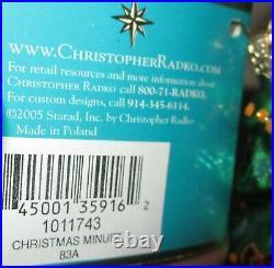 Radko CHRISTMAS MINUET Grand Piano Tree Gifts Christmas Ornament NWT New 1011743