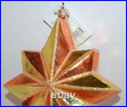 Radko CHRISTMAS STAR Christmas Ornament 99-179-0 LARGE