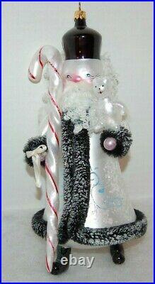 Radko CITIZEN CANE Christmas Ornament 998-088-0 RARE, INCREDIBLE Large Italian