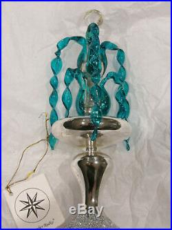Radko Crystal Fountain Ornament. 1993. 93-243-0. Outstanding Never Used