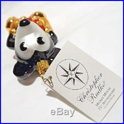 Radko Disney 2003 MICKEY MOUSE 75th ANNIVERSARY Ornament Very Rare NEW withTag