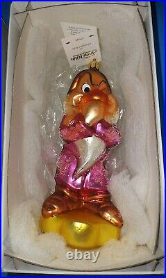 Radko Disney Snow White And Seven Dwarfs Ornaments 8 Piece Collection (1997)