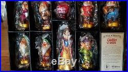 Radko Disney Snow White Limited Edition 60th Anniversary Ornament Set # 103/500