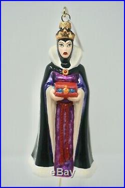 Radko Disney Snow White & the Seven Dwarfs The Queen Ornament 98-DIS-14