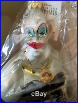Radko Disney- URSULA- Christmas ornament from The Little Mermaid