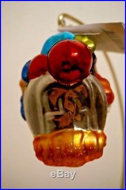 Radko Disney World Monorail Mickey, Minnie, Donald & Goofy Ornament 02-DIS-13
