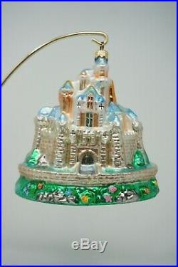 Radko Disneyland Cinderella Castle Christmas Ornament 99-DIS-39 Signed