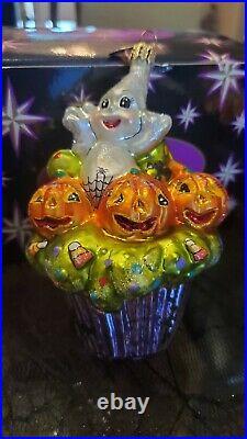 Radko Hand Blown Glass Halloween Ornaments (Lot of 13 ornaments)